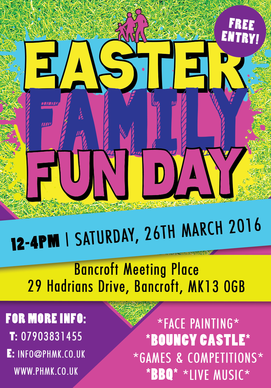 easter family fun day the potter 39 s house church milton keynes. Black Bedroom Furniture Sets. Home Design Ideas
