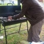 BBQ sizzling!