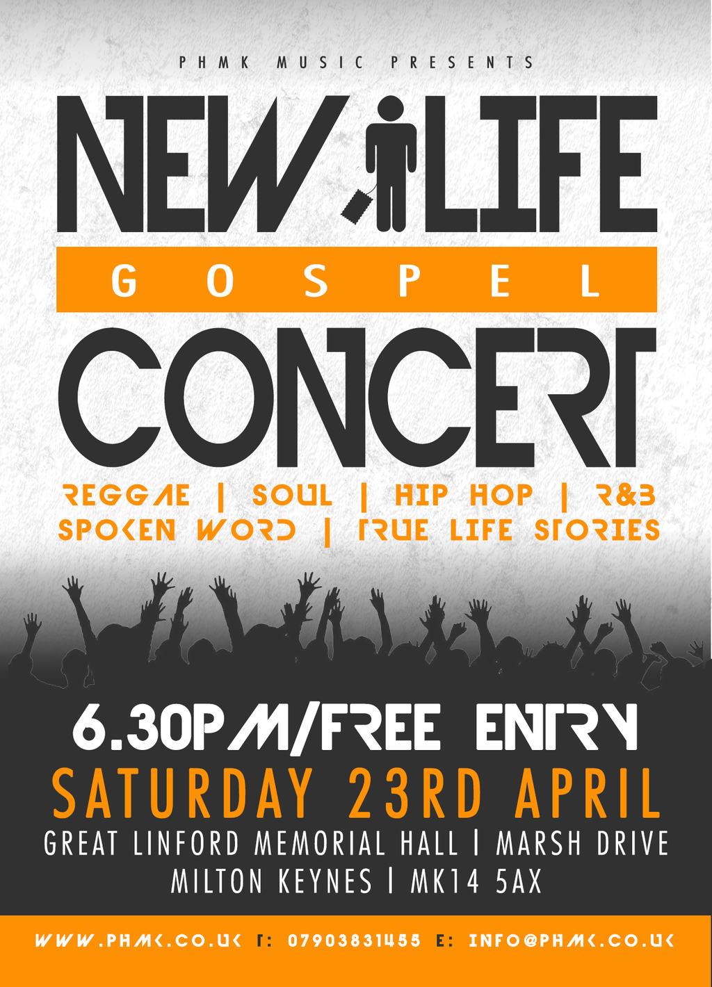New Life Concert Coming Soon   The Potter's House Church Milton Keynes