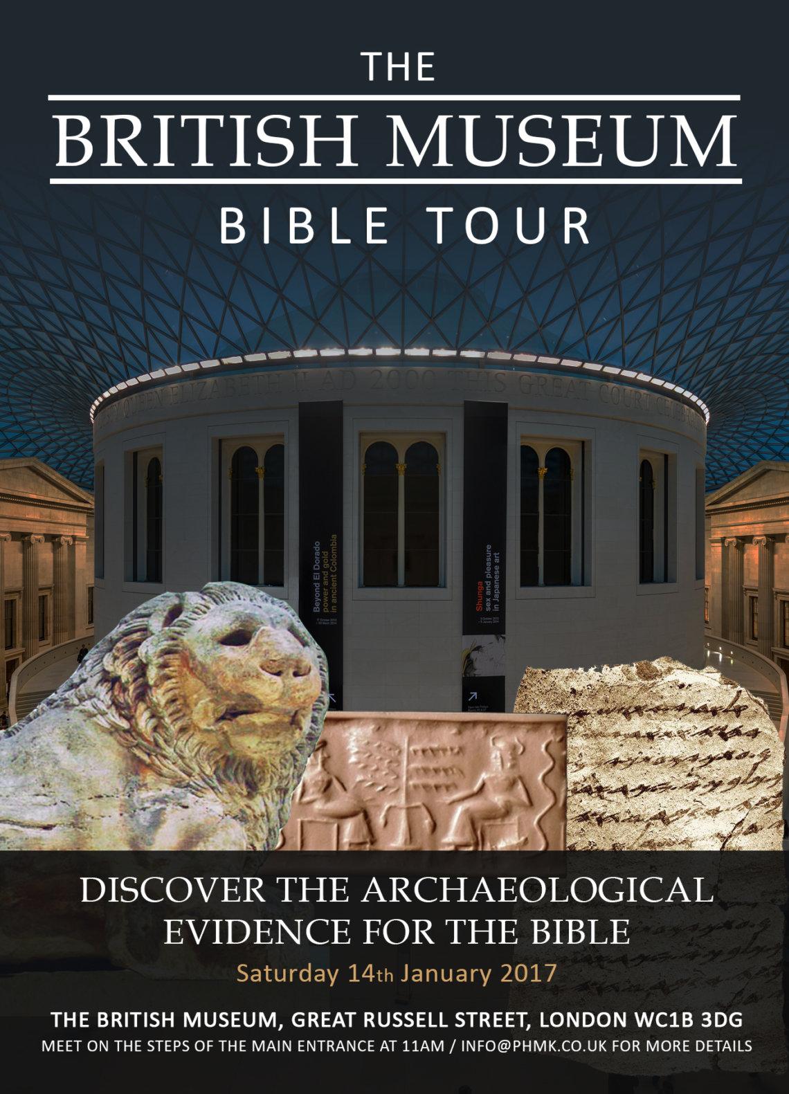 British Museum Bible Tour