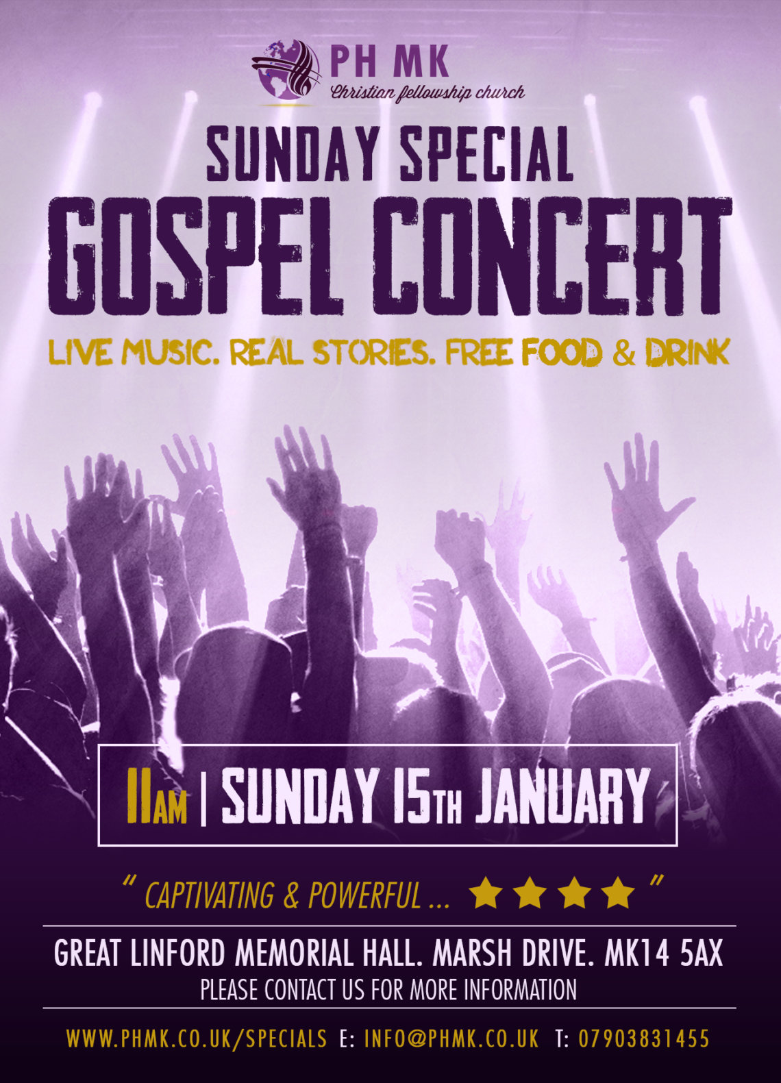 milton keynes church gospel concert