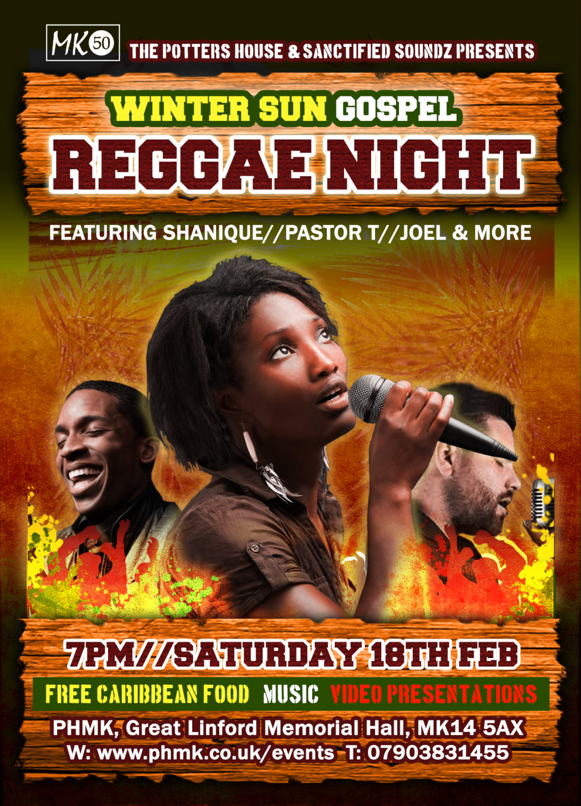 Winter Sun Reggae Concert