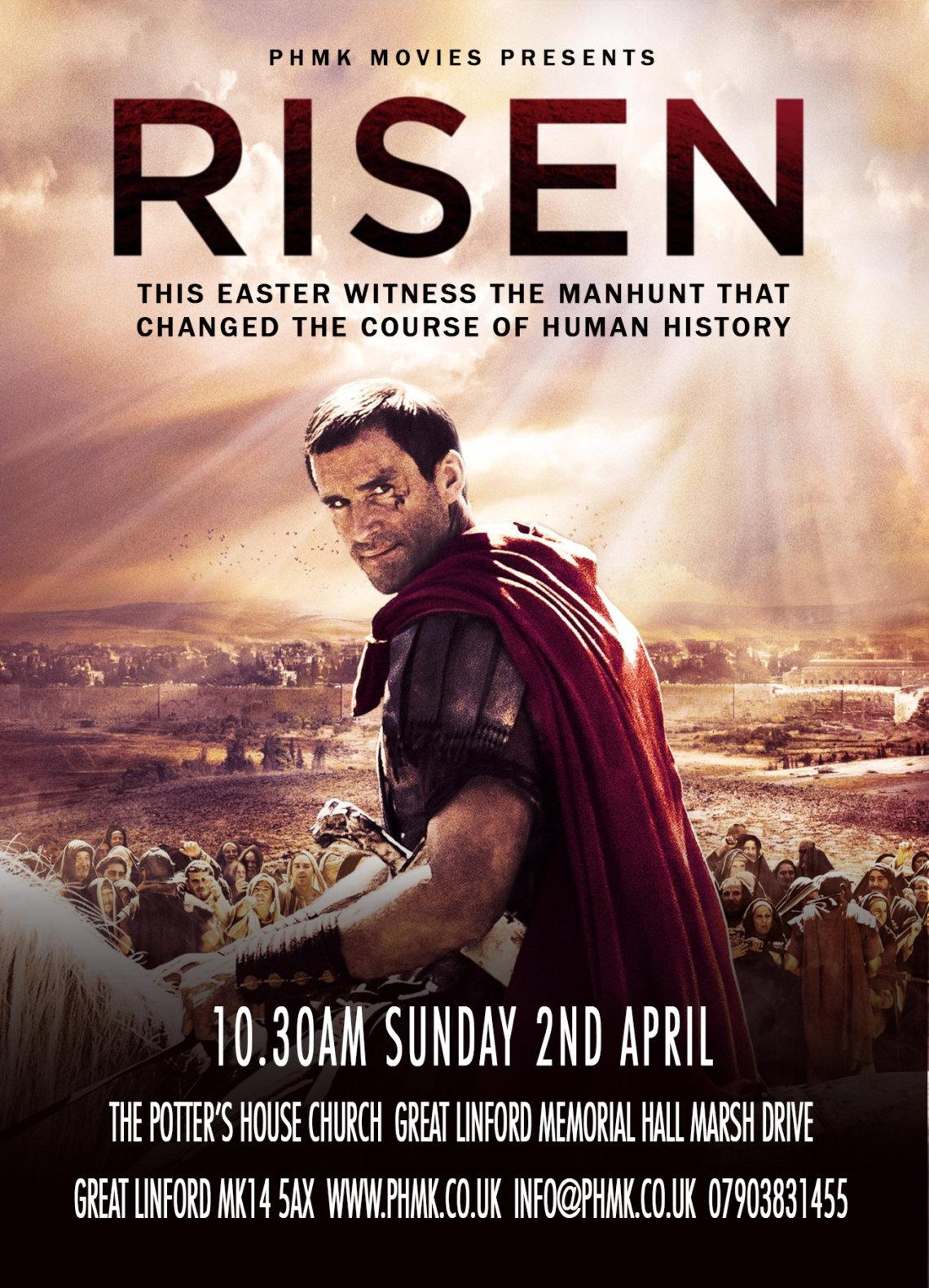 Risen Movie Milton Keynes church